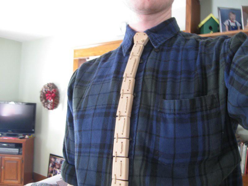 11. Галстук, сделанный на уроке труда. галстуки, странные люди