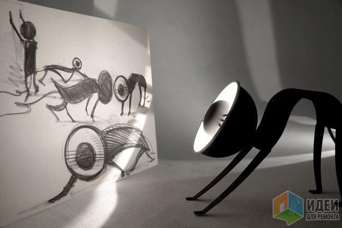 Светильник в виде кошки, декоративные светильники