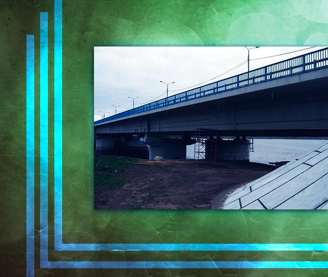 Строительство моста через реку Шоша в Тверской области перешло в финальную стадию