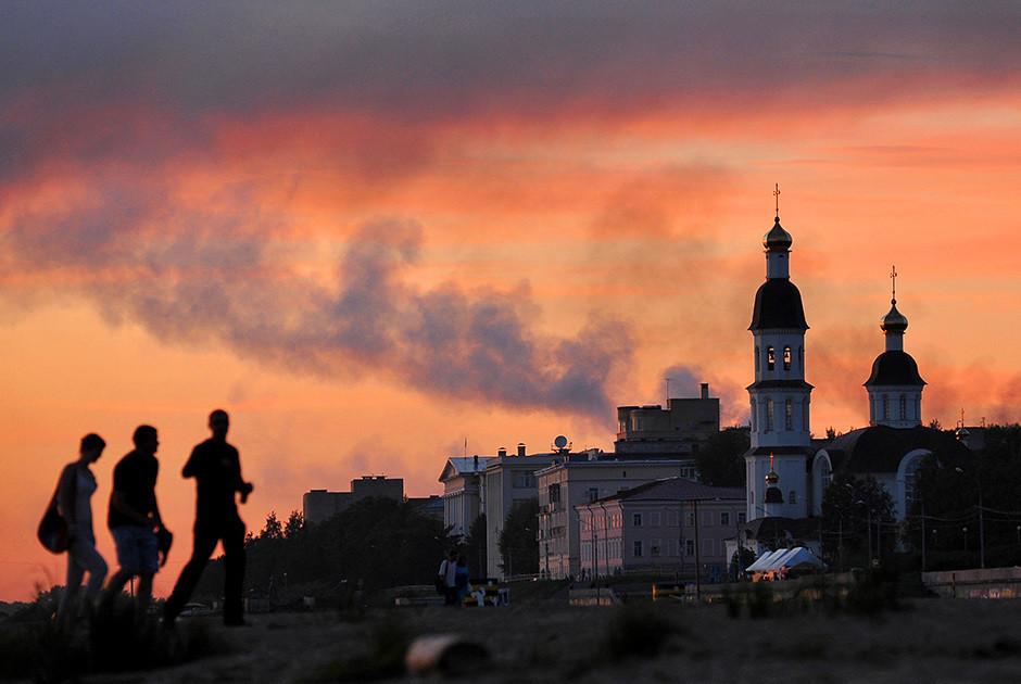 Архангельск интересные места, россия, север, факты