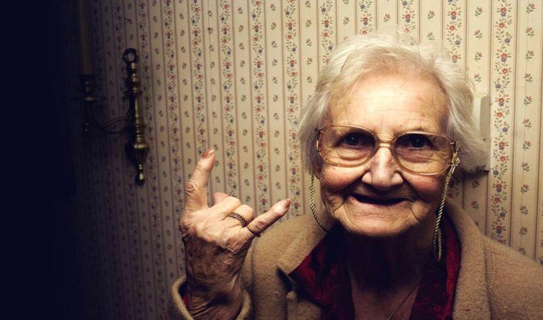 «Идите к черту! Я слишком стара для этого!». И ведь она права!