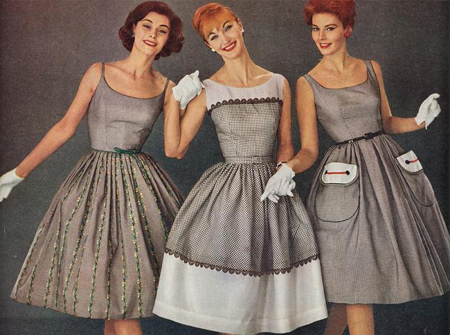 Retro style kleider