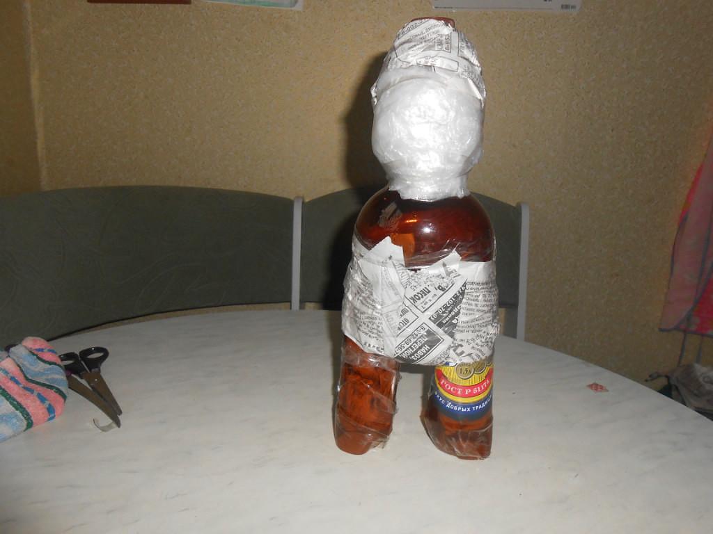 Гномы своими руками из пластиковых бутылок 252
