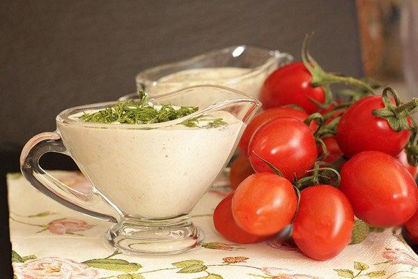 Кедровая сметанка - вкуснейший соус