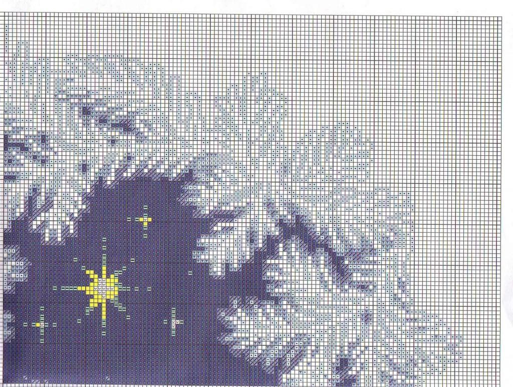 Схемы вышивки крестом на большой канве