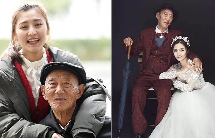 Девушка сделала сюрприз для своего 87-летнего дедушки, воплотив в жизнь его давнюю мечту