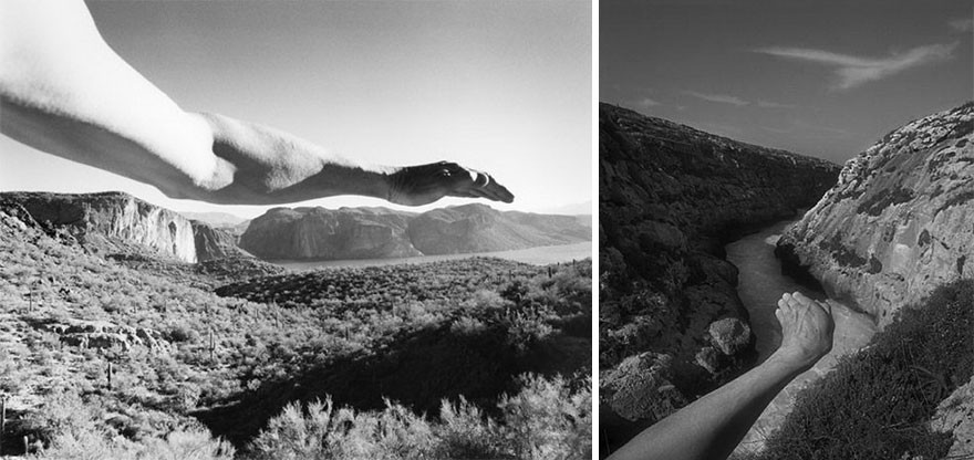 Сюрреальные миры фотографа Арно Рафаэля Минккинена автопортрет, сюрреализм, тело