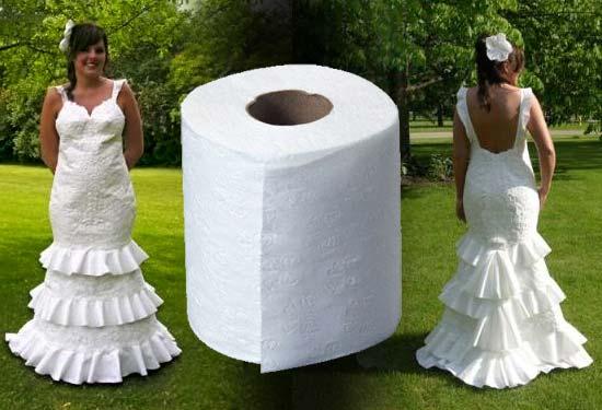 Красивое платье из бумаги своими руками 125