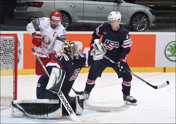 Беларусь обыграла США на ЧМ-2015 по хоккею
