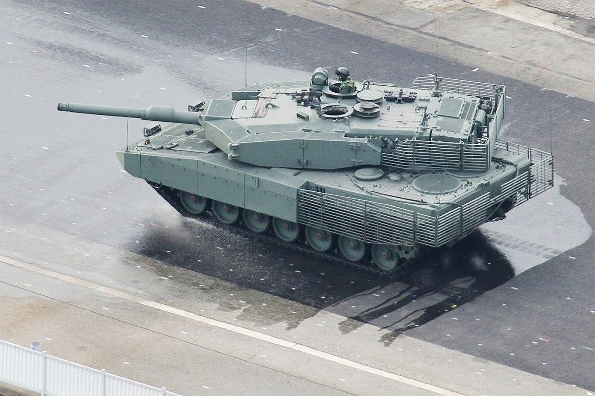 Сингапур продолжает получать танки Leopard 2 из Германии
