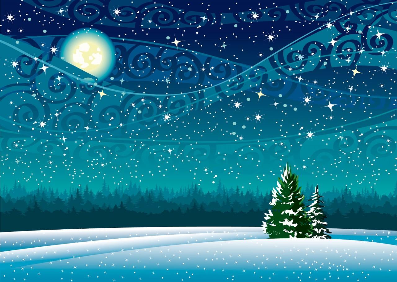 Мгновеньем дивным зимний ангел, торжествуя...