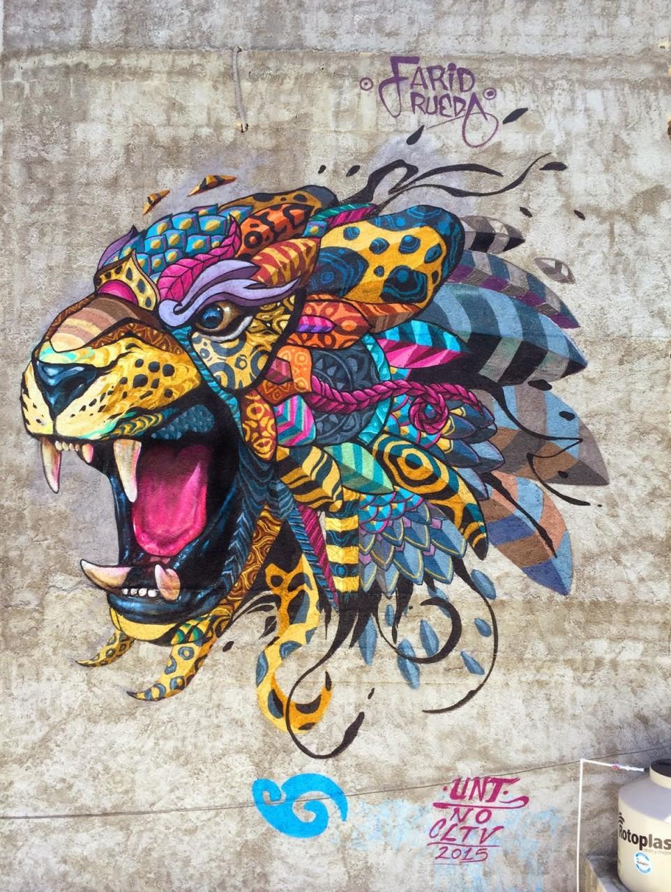 6. Плая-дель-Кармен, Мексика граффити, стрит-арт, художники