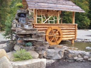 красивые водопады для сада