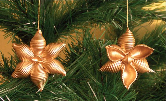 Новогодние украшения измакарон