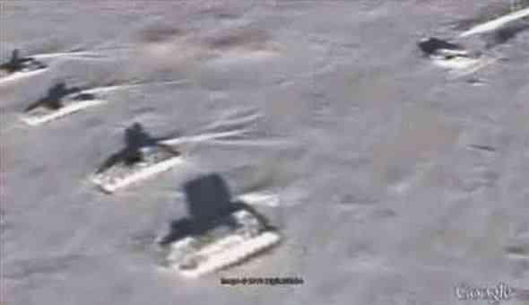 Тайна Антарктического НЛО становится все загадочней после обнаружения танков рядом с ним