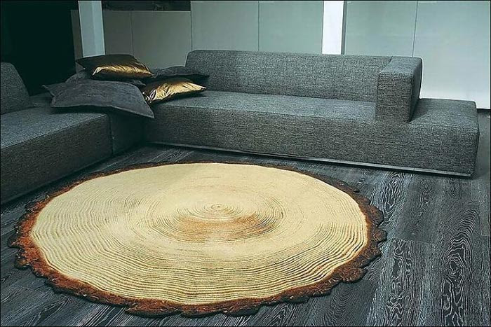 Мягко стелем! Самые необычные ковры для интерьера