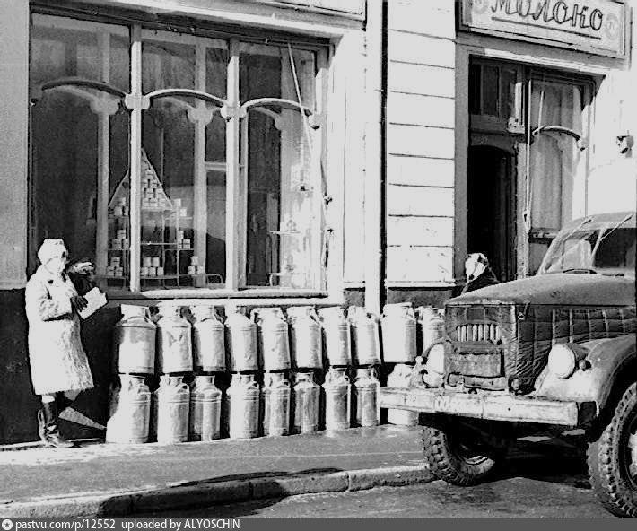 Прогулка по Москве 1980 года