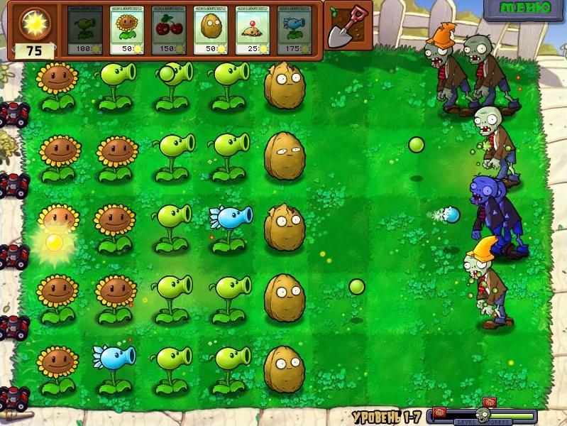 Plants-vs-Zombie