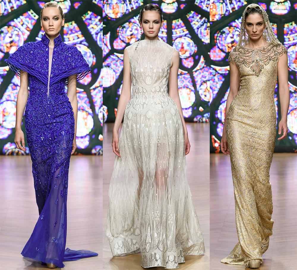 Вечерние платья от известных дизайнеров из коллекций 2018-2019