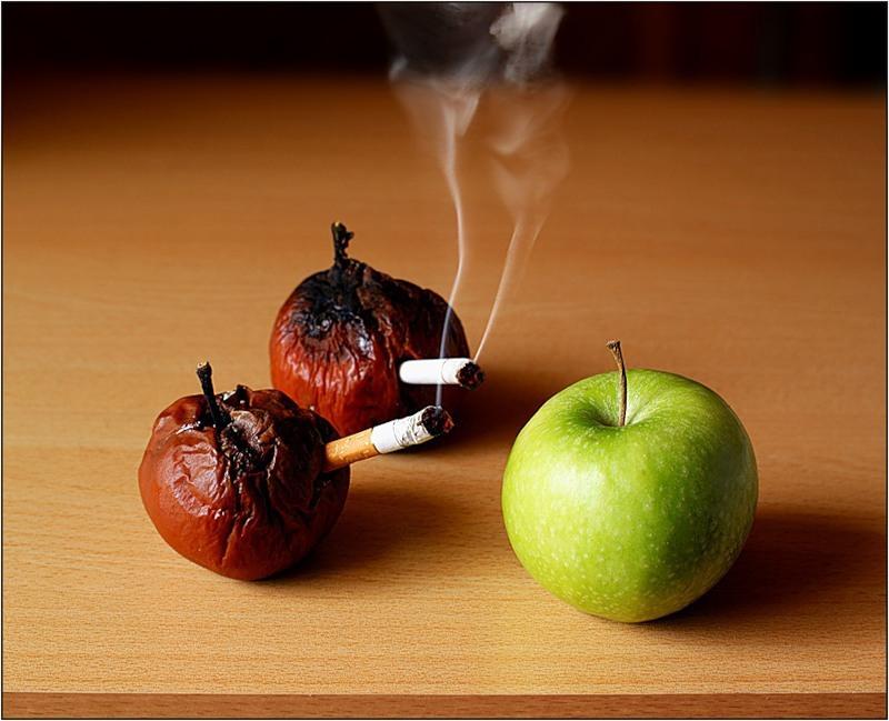 Ученые разработали меню для восстановления легких курильщиков