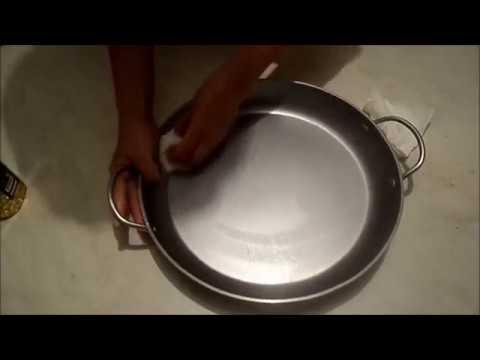 Что сделать чтобы сковорода …