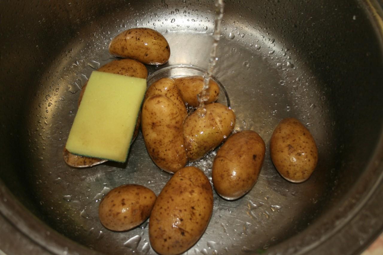 Картошка на мангале. еда, мангал, рецепт.