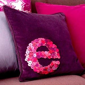 лиловый цвет в интерьере