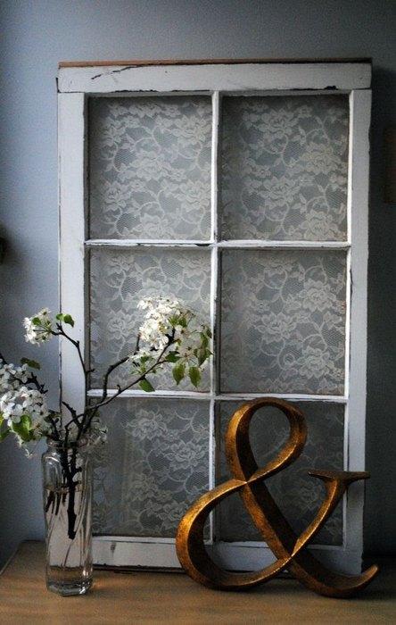 Фальшивое окно со стеклом