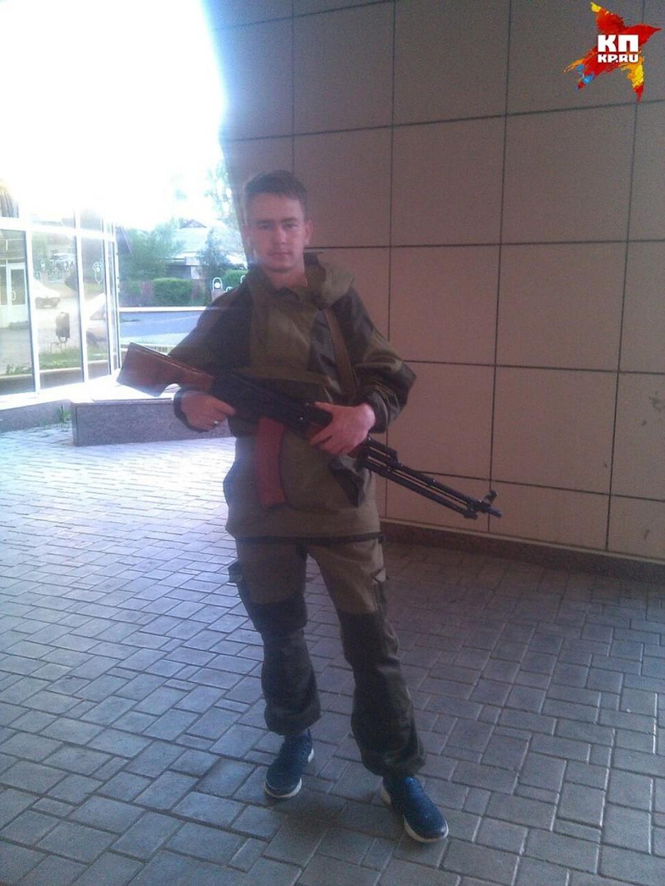Паша служит в спецназе Фото: ! Соцсети