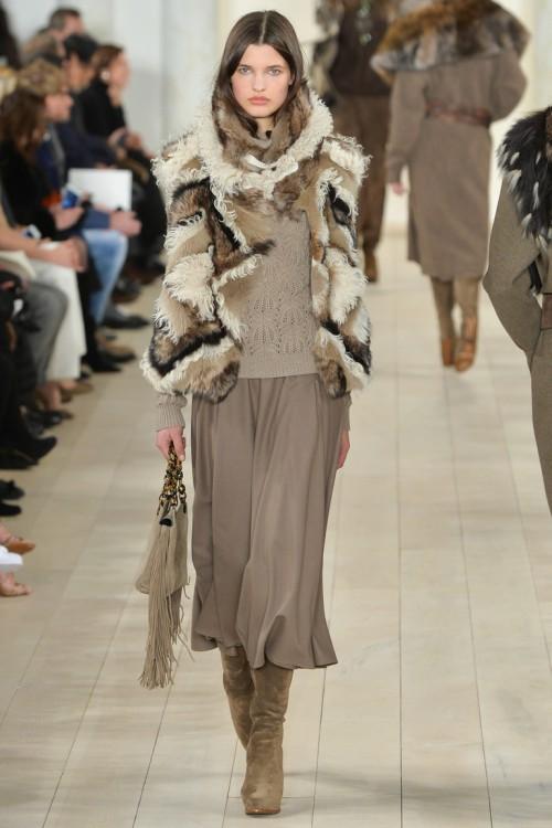 осень-зима 2015-2016, NYFW, knitwear, Неделя моды, вязана мода, кэмел, вязаный джемпер (фото 10)