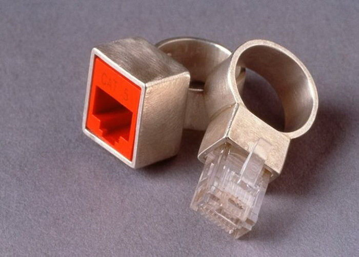 Кольца, которые идеально друг другу подходят диза, кольцо, креатив