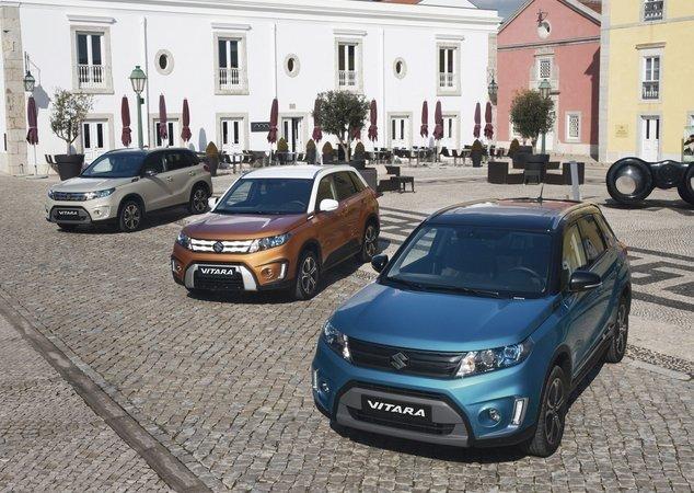 В РФ начались продажи обновленного кроссовера Suzuki Vitara