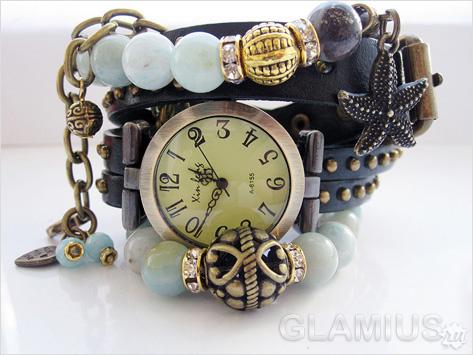 Как носить часы и браслеты
