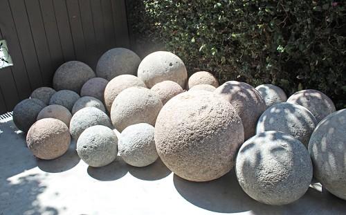Шар из бетона своими руками