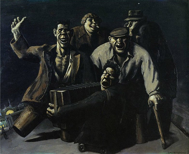 Страшный СССР на картинах художника.