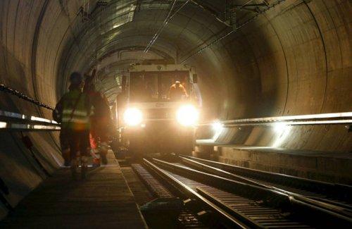 Железнодорожный тоннель Готт…