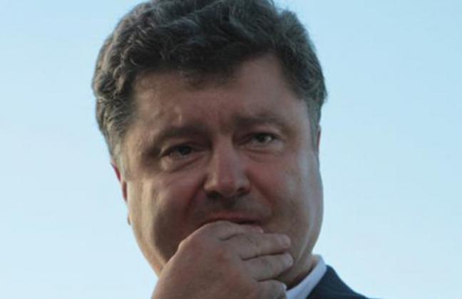 У президента Украины Петра П…