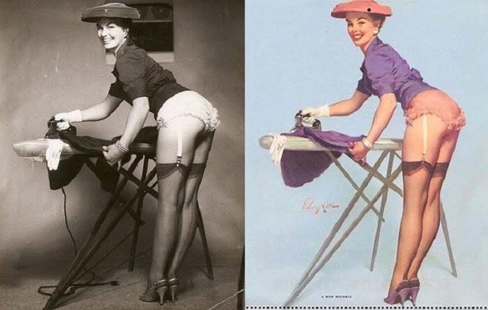 Pin-Up-девушки и их реальные прототипы.