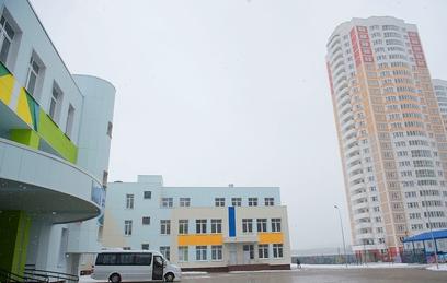 Современный учебный комплекс открылся в поселке Московский