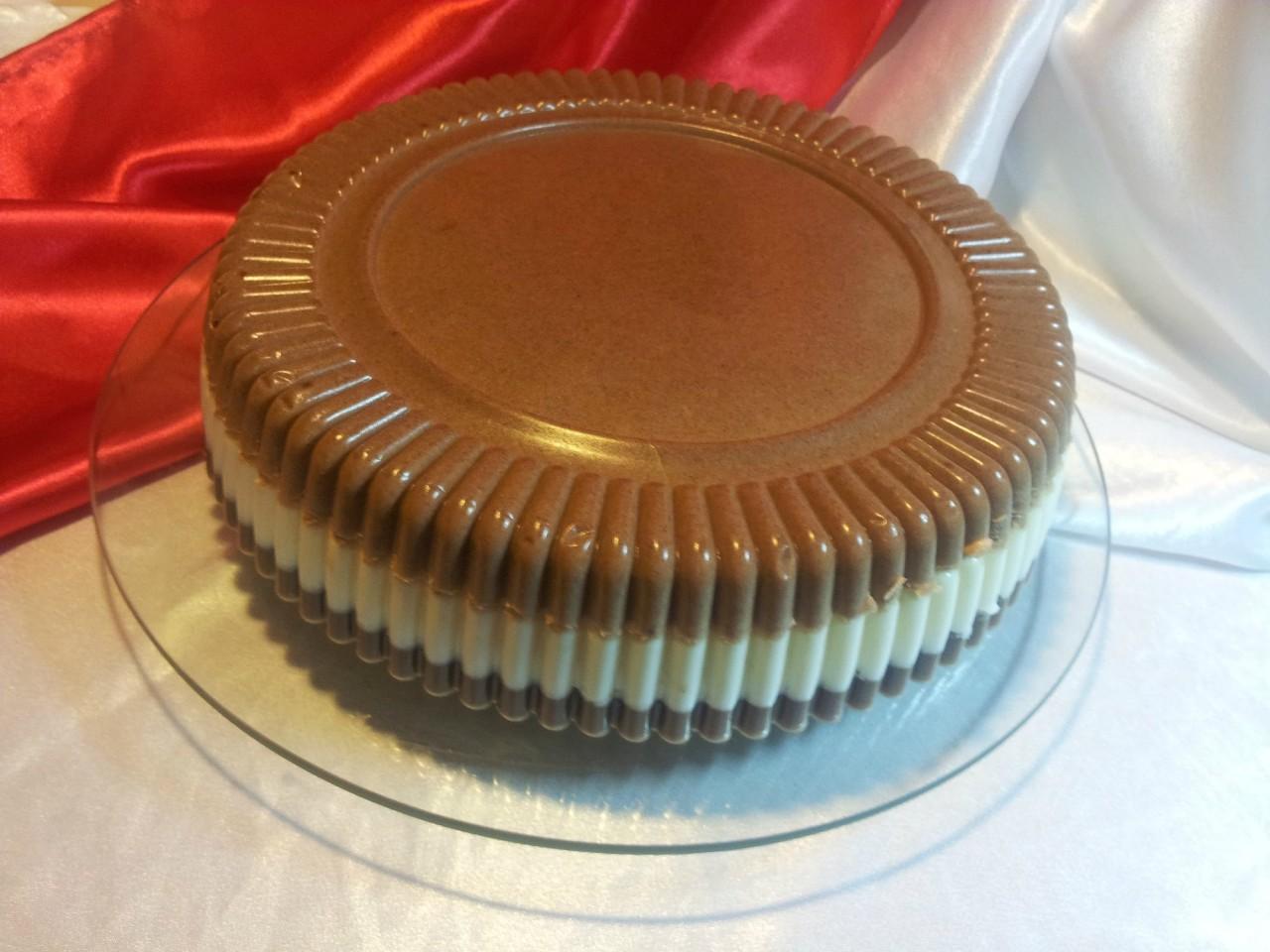 Торт «Птичье молоко» без выпечки. Желейный торт