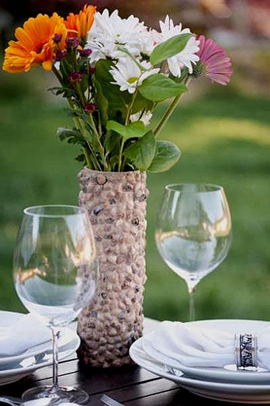 Красивые вазы для цветов своими руками