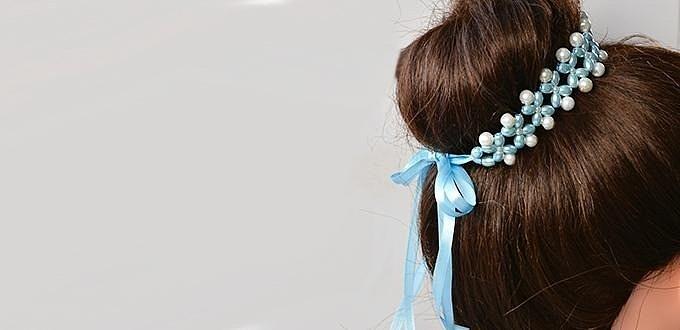 Украшения из бусин для волос своими руками: 10 мастер-классов