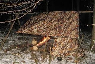 Устройство ночевки у костра без риска для здоровья