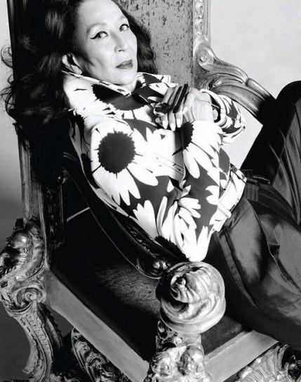 Чина Макадо —  ярчайшая икона стиля современности, несмотря на свои 85 лет