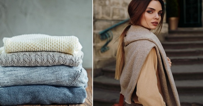 Как носить свитер осенью