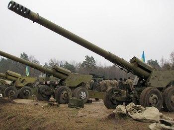 Украинские военные спрятали запрещенное оружие под школой
