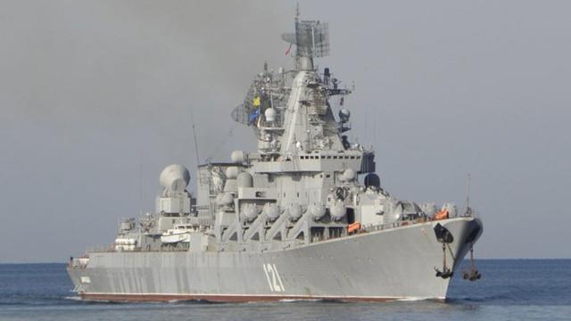 В Греции ищут одного из матросов, спрыгнувших с ракетного крейсера «Москва»