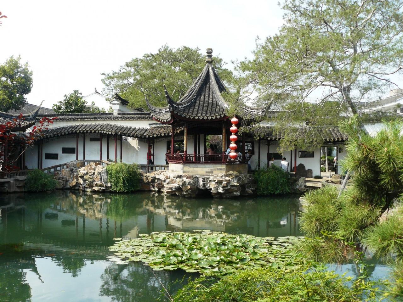 Сады и парки мира... Оу Юань. Упорядоченный хАос.