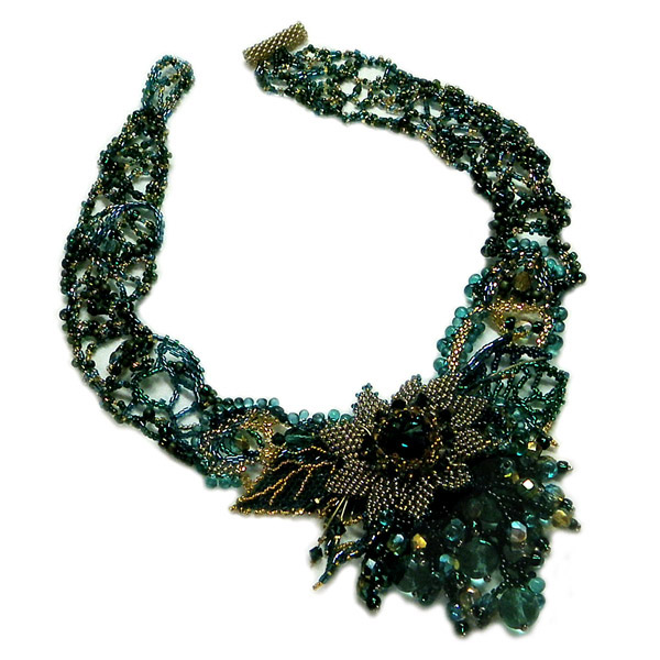 Necklace - Emerald Beauty