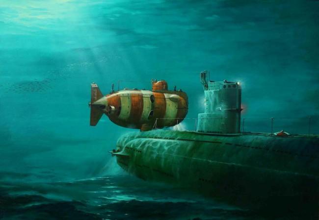 русские спасли американскую подводную лодку